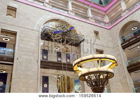 Interior Central children's store on Lubyanka (opened in April 2015 after extensive reconstruction) Moscow Russia