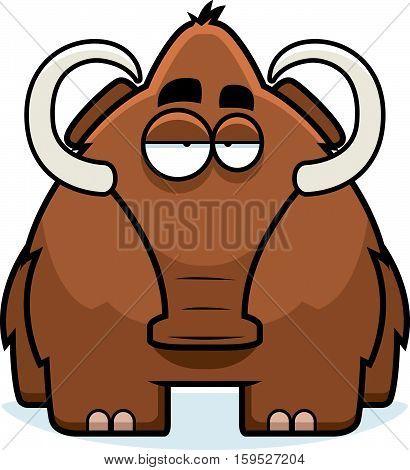 Cartoon Woolly Mammoth