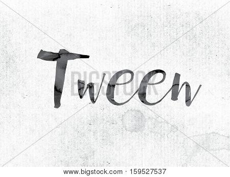 Tween Concept Painted In Ink
