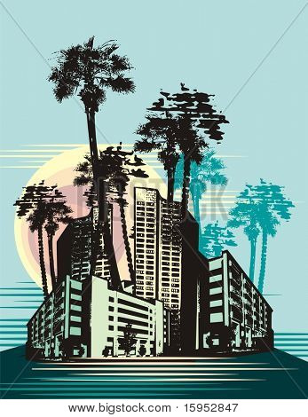 Urban Landscape Background