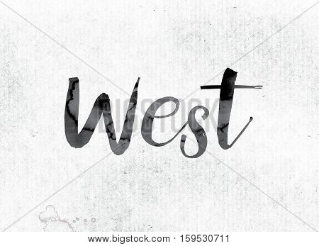 West Concept Painted In Ink