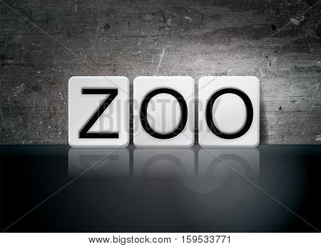 Zoo Tiled Letters Concept And Theme