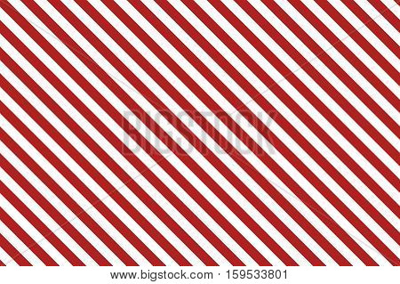 Red stripes on white background. Striped diagonal pattern Red diagonal lines background, Winter or Christmas theme