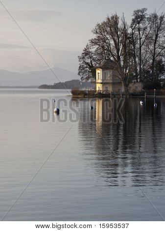 A nice house at lake Starnberg in Tutzing Bavaria Germany