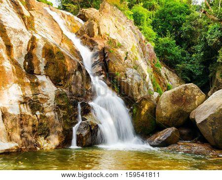 Hin Lad Waterfall. Koh Samui, Thailand