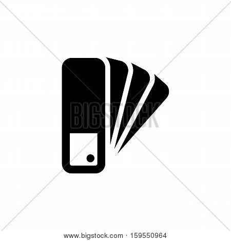 Pantone Icon. Flat illustration isolated vector sign symbol