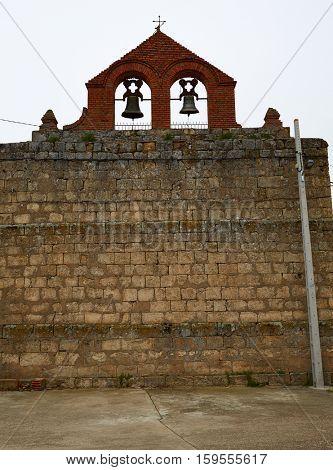 El Cubo del Vino village in Salamanca by the Via de la Plata way Spain