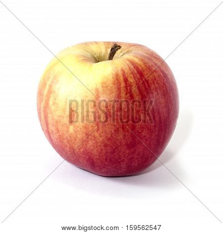 Apple red isolated on a white background