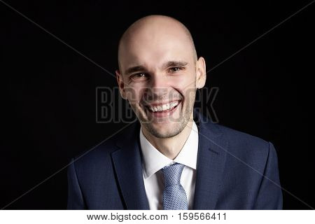 Portrait Of Laughing Man