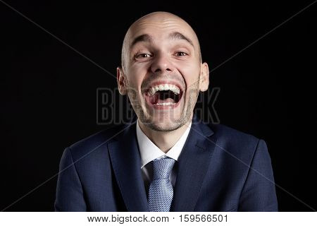 Goofy Laughing Man