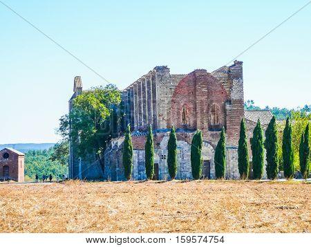 Hdr San Galgano Abbey