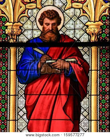 Stained Glass - St Mark The Evangelist