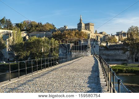 Pont Saint Benezet in Avignon South France