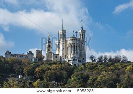 Basilica Notre Dame De Fourviere Directions Lyon, France