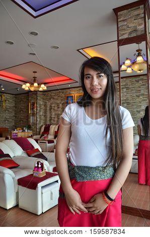 Thai Masseur Offfer Massage In Pattaya, Thailand