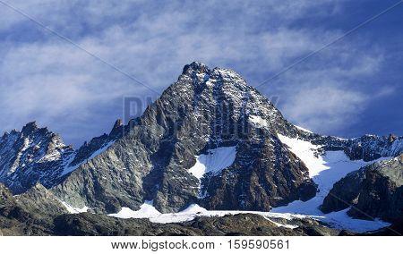 Grossglockner Peak (3798m), Hohe Tauern National Park, Austrian Alps, Austria