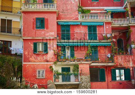 Scenic View Of Amalfi, Italy