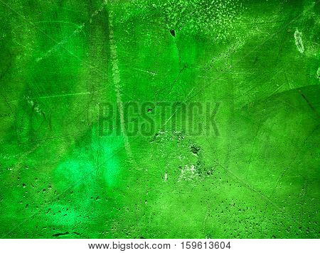 Background Made With A Texture Of A Green Wall