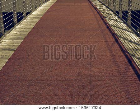 Vintage Looking Red Carpet