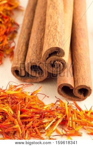 Macro View Of The Spices