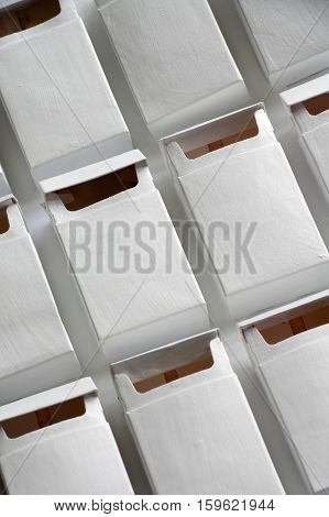Pack of cigarettes  colour white group objects.