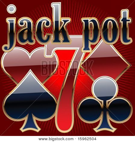 set of casino's items