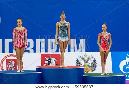 K. Minagawa, A. Soldatova, A. Averina On Pedestal