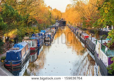 Little Venice District In West London