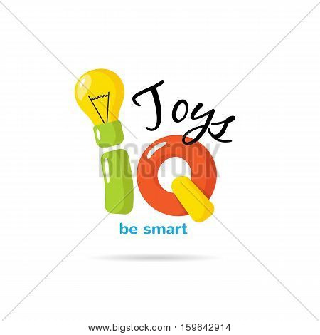 Iq Toys Creative Logo Vector Photo Free Trial Bigstock