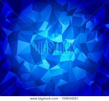 Abstract polygonal background. Triangles . Saturated contrasting elements