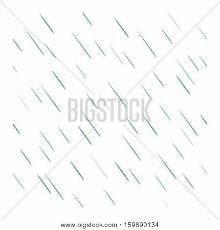 Seamless colorful rain drops pattern background vector. Nature raindrop abstract stylish weather design. Graphic blue water wallpaper texture backdrop.