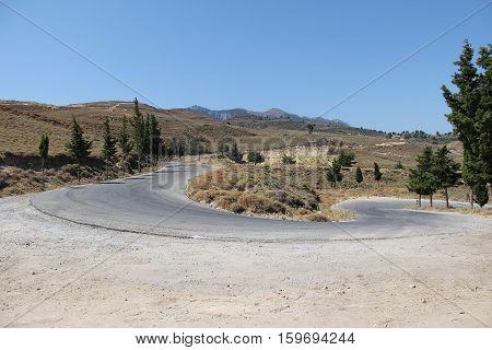 The island of Kos / Summer landscape on a Greek island of Kos, Greece.