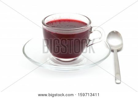 Home-made Individual Berry Jelly Portion