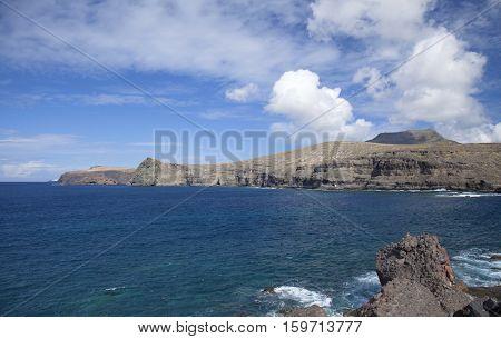 Gran Canaria north west coast around Puerto de las Nieves