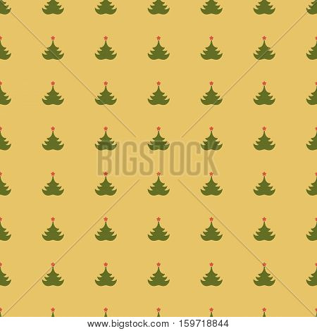 Seamless geometric pattern.Background with fir-tree. Texture for advertisement wrapping paper label page fill book covers.
