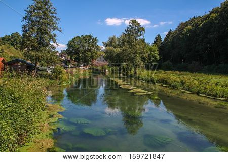 Summer Landscape / Eselsburger Tal (Germany) .
