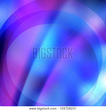 Abstract dreamy background of bright glow perspective with lighting blue circle lines. Can be used for business brochure flyer party design banners cover book label