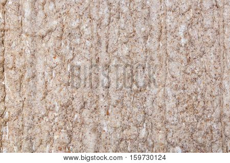 dietary crispbread, snack, bread background or texture