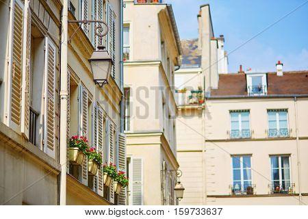 Beautiful Parisian Street