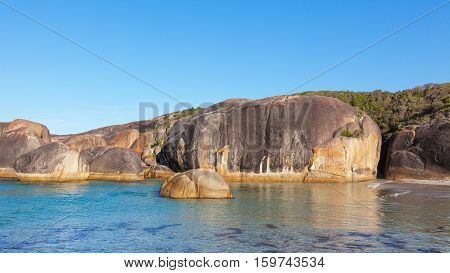 Elephant Rocks in William Bay National Park near the town of Denmark in Western Australia.