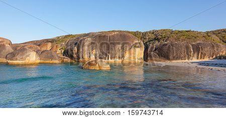 Elephant Rocks in William Bay National Park near the town of Denmark in Western Australia.