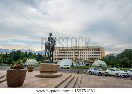 Former Kazakh Parliament Building, Almaty