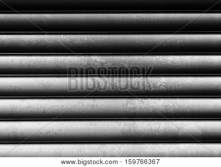 Horizontal black and white vintage metall texture background hd