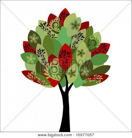 summer/fall  tree