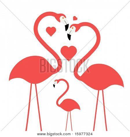 Flamingo do (camadas para a edição)