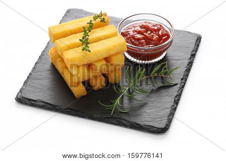 fried polenta, polenta sticks, polenta fries