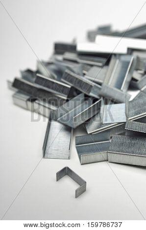 Heap of staples