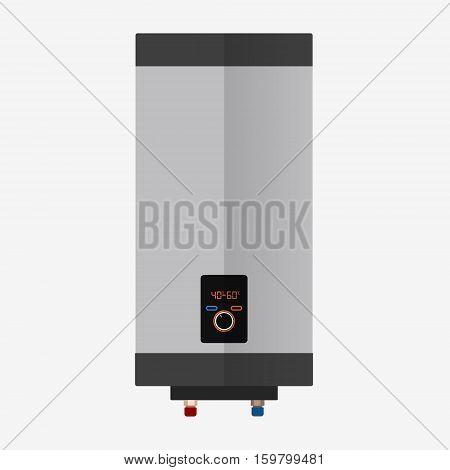 Boiler Flat Icon.