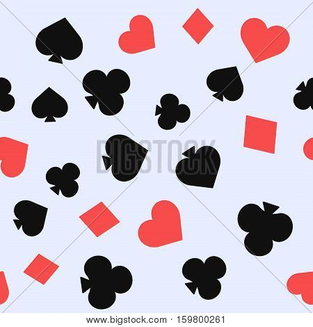 Set Of Playing Card Suits