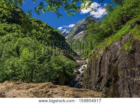 Caucasus, Dombay,